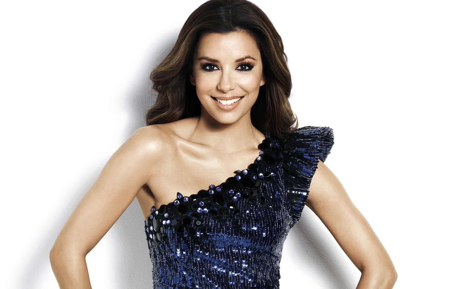 Stylish Eva Longoria Beautiful Smile Face Look Laptop Free Download Images Background Hd