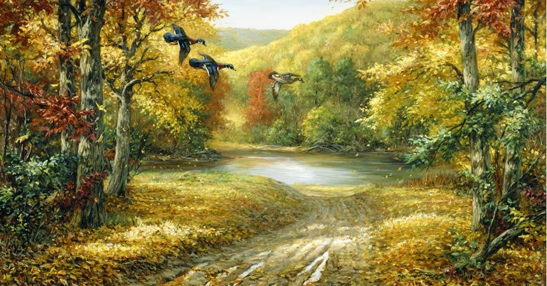 oil painting forests wallpapers images photos picture download