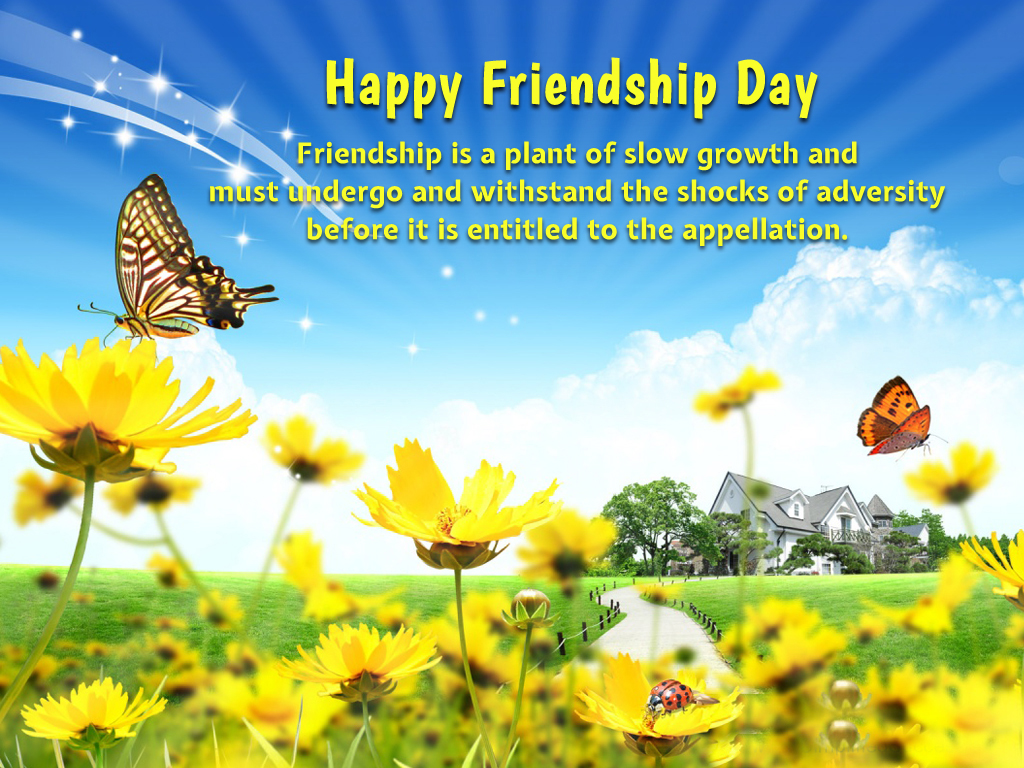 free friendship day high definition quotes