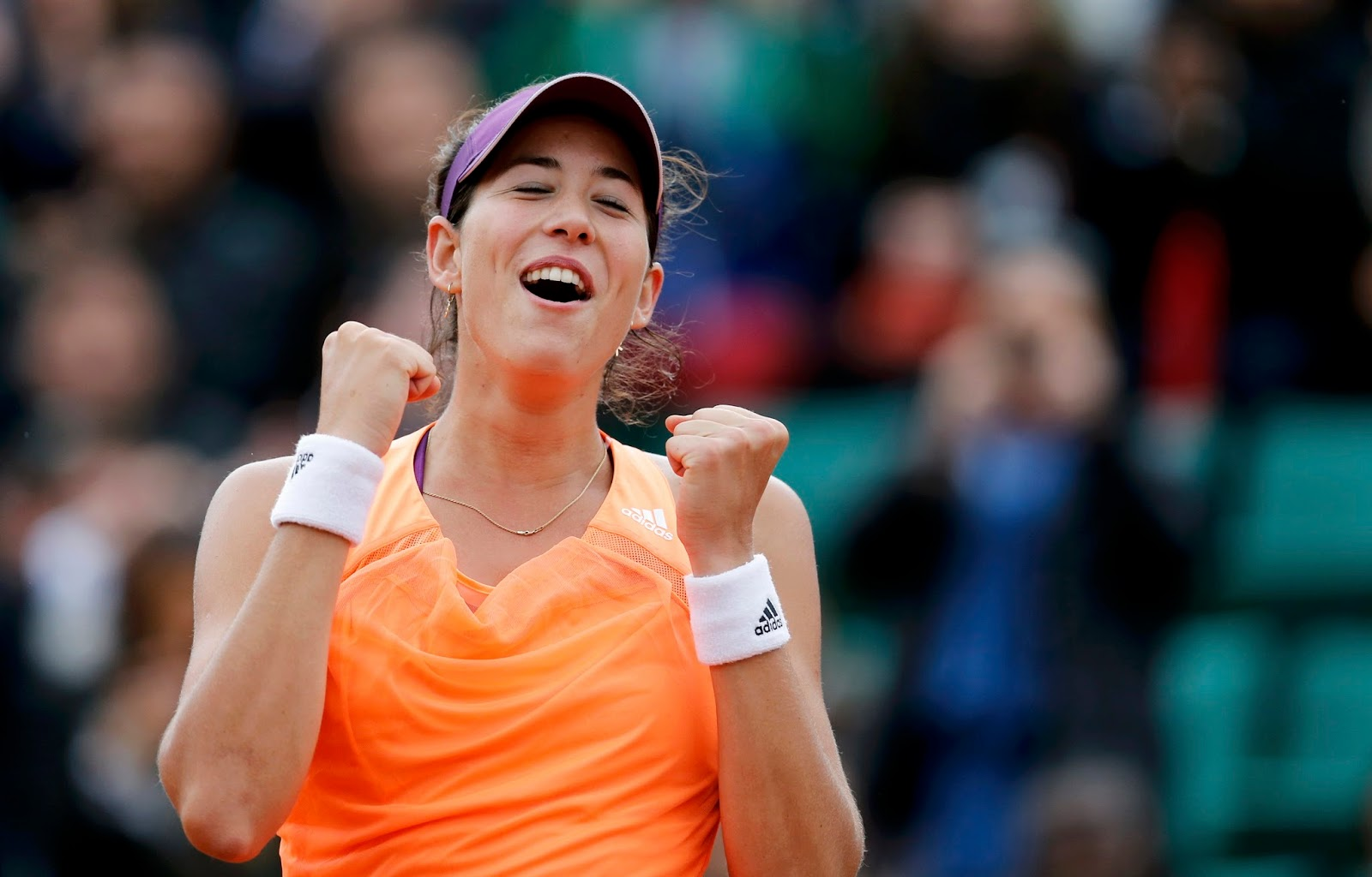 amazing garbine muguruza smiling face hd mobile desktop background free photos