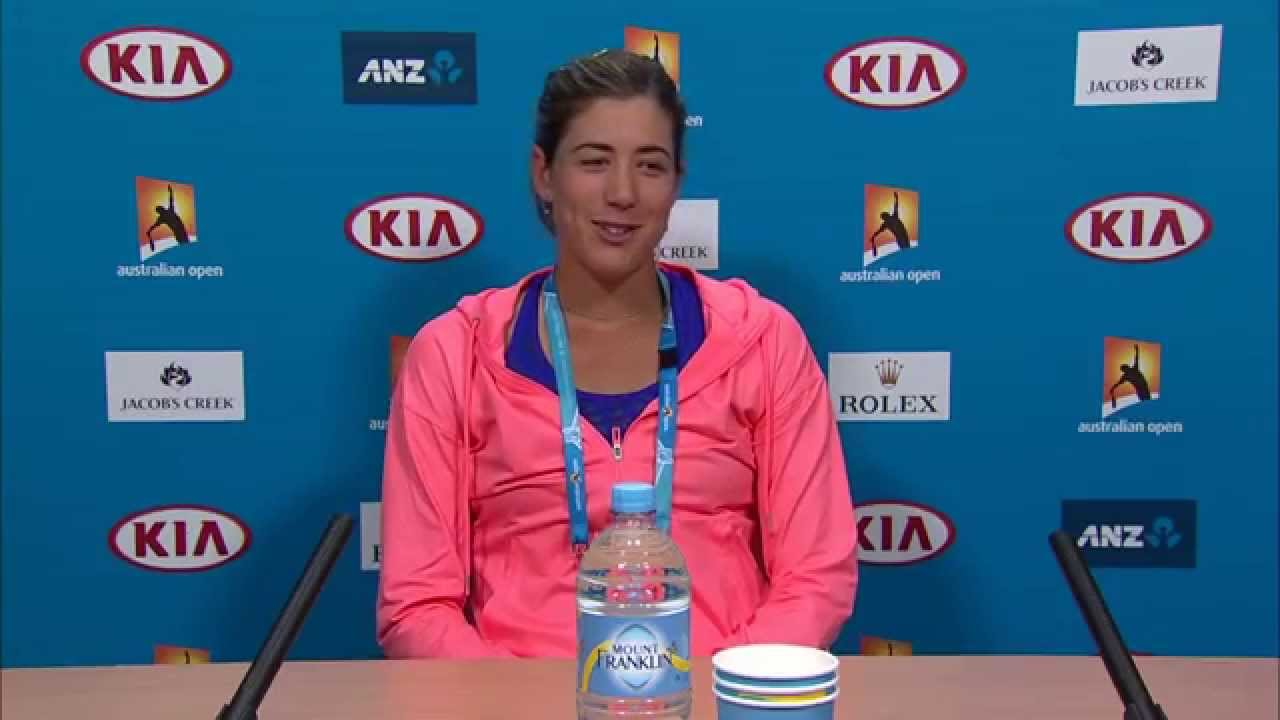 fantastic garbine muguruza press conference mobile desktop images background free