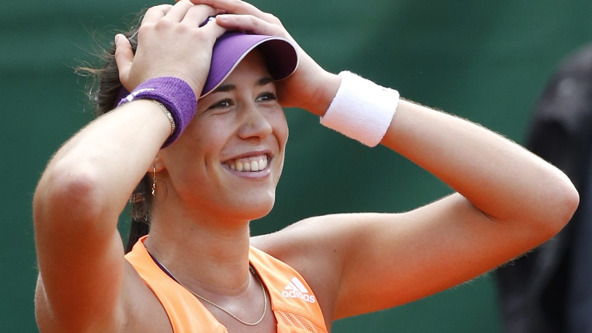 fantastic garbine muguruza smiling face mobile free download hd images background
