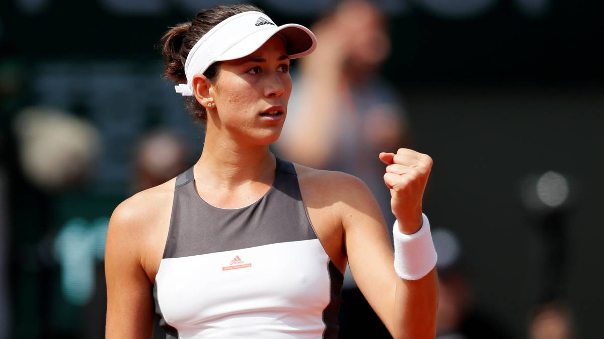 Garbine Muguruza Get Point Mobile Download Wallpaper Hd Free