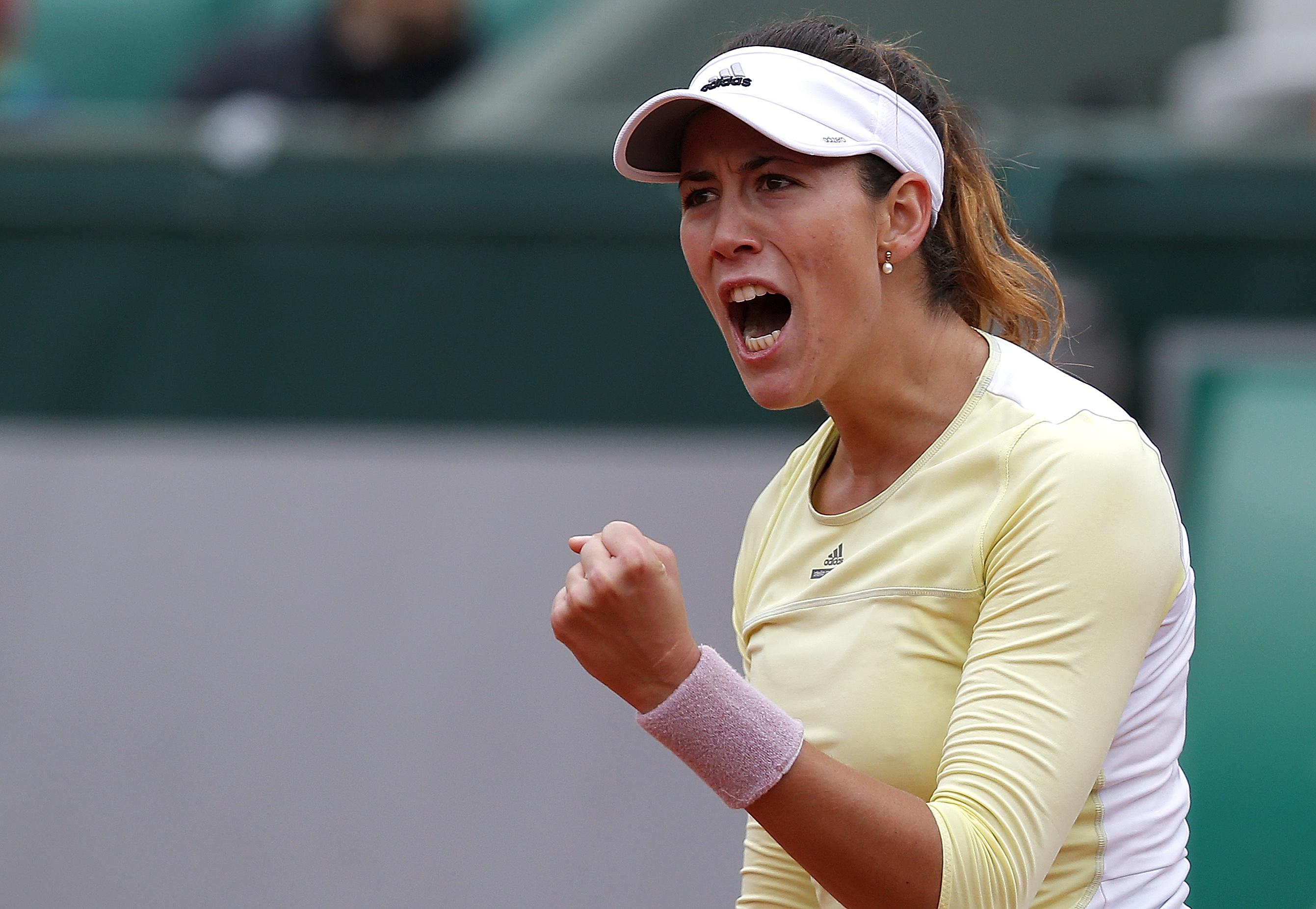 Garbine Muguruza Reaction Mobile Hd Wallpaper Free Download Background