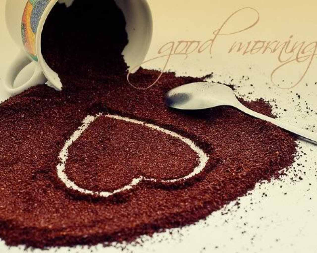 download good morning with coffee hd wallpapers