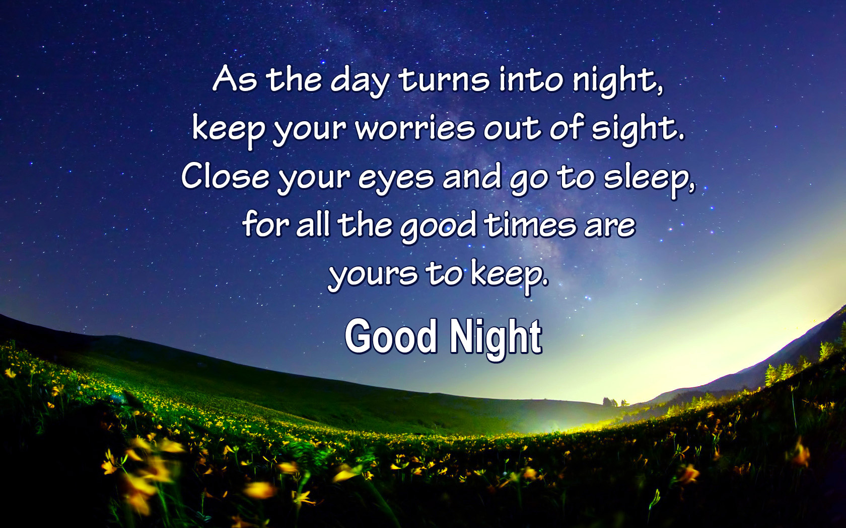 fantastic good night quotes free download