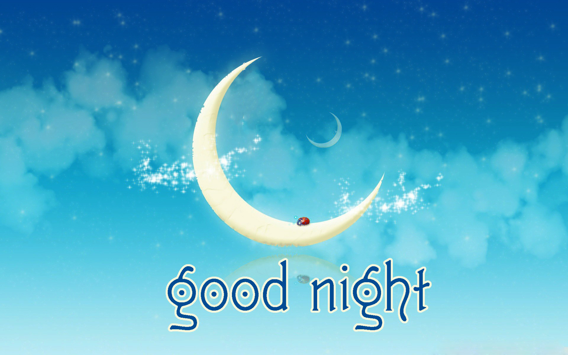 free 3d good night picture moon download
