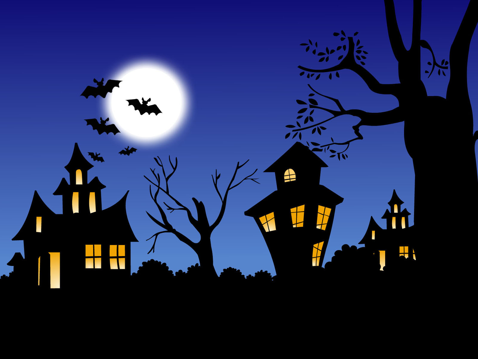 Halloween Creepy Haunted House Images