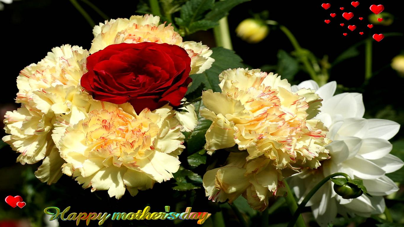 happy mothers day floral pics greeting cards download
