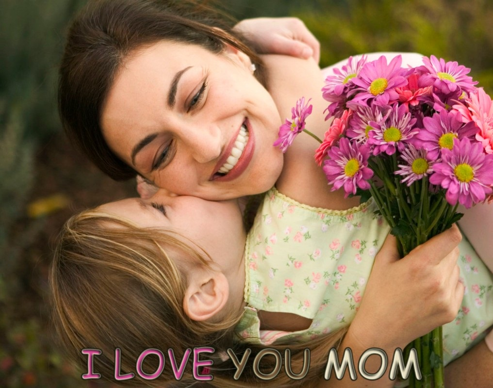 hug of child mother greetings wishes happy mothers day wallpaper