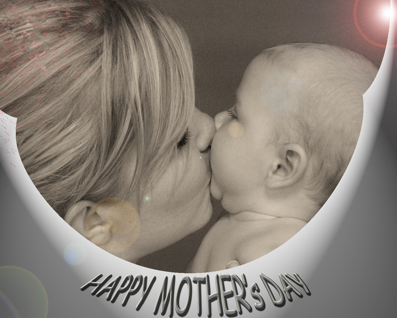 kissing mother child mothers day celebrations wallpaper download