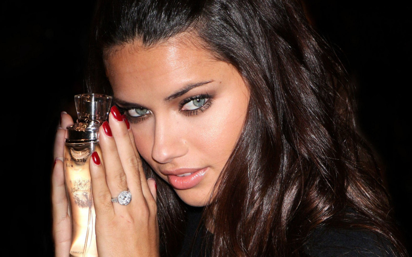 adriana lima model perfume photo image free download
