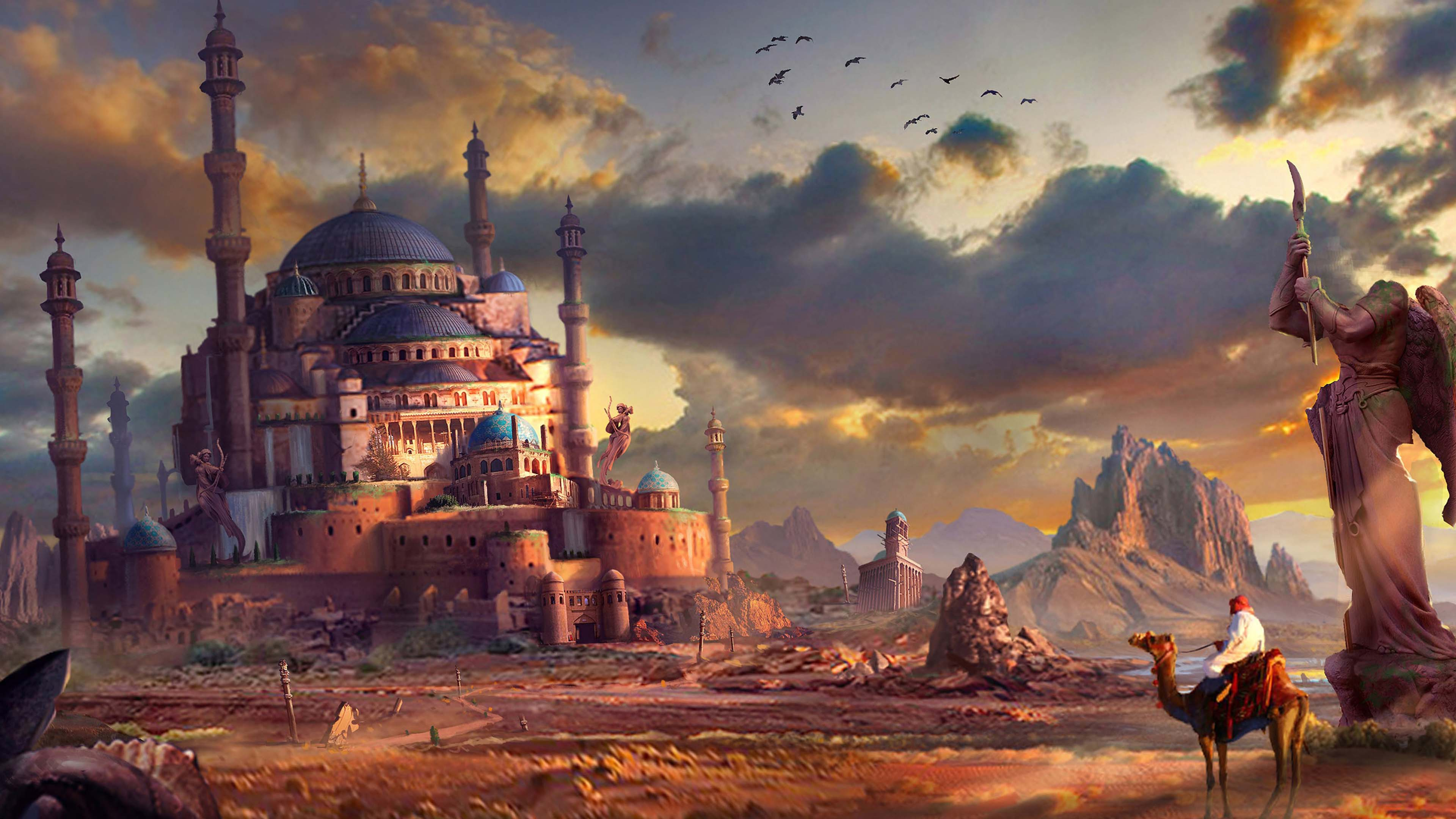 Arabic Marvelous Painting Picture Desktop Free Download