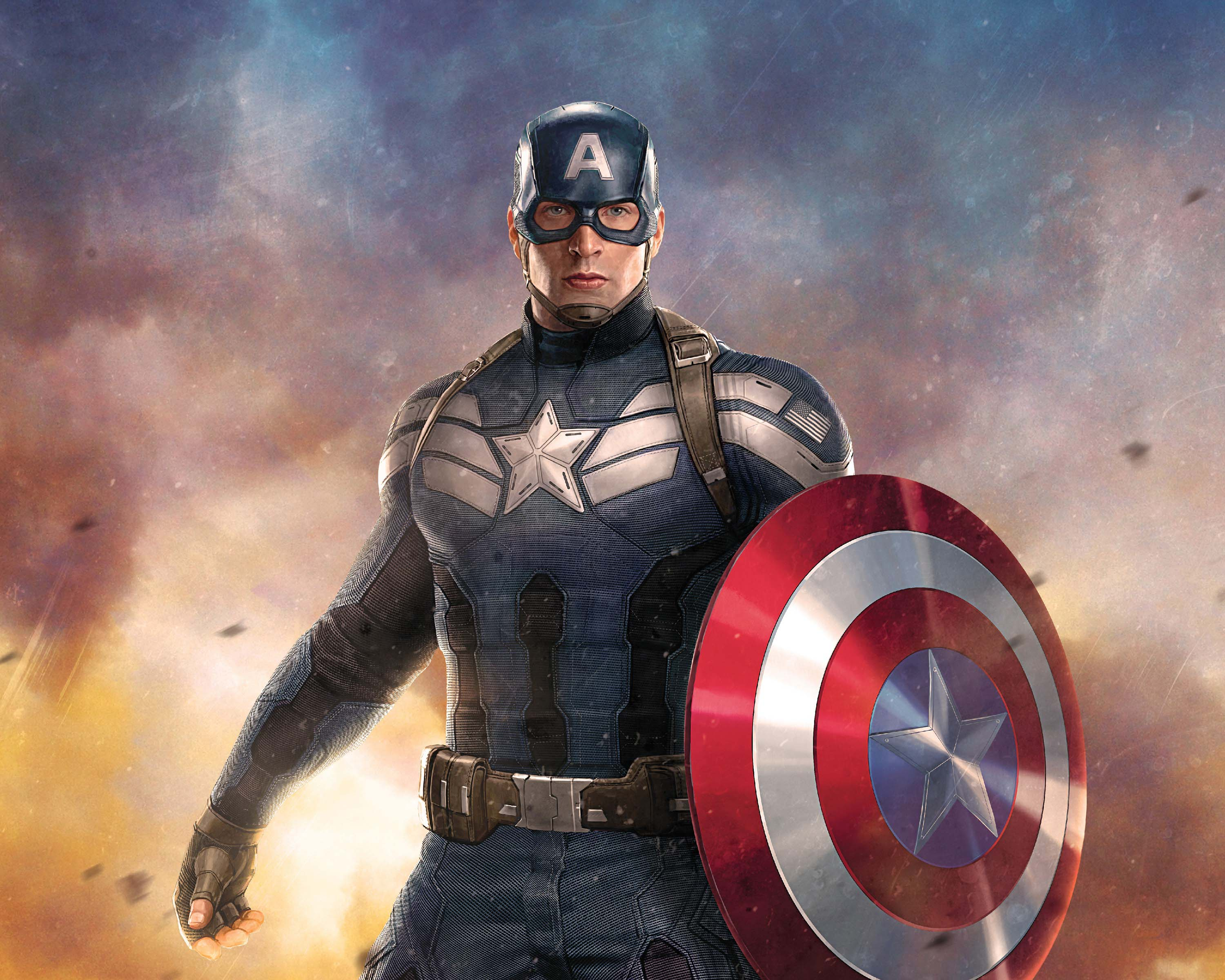 Captain America Steve Ronger Exclusive Image Widescreen Wallpaper