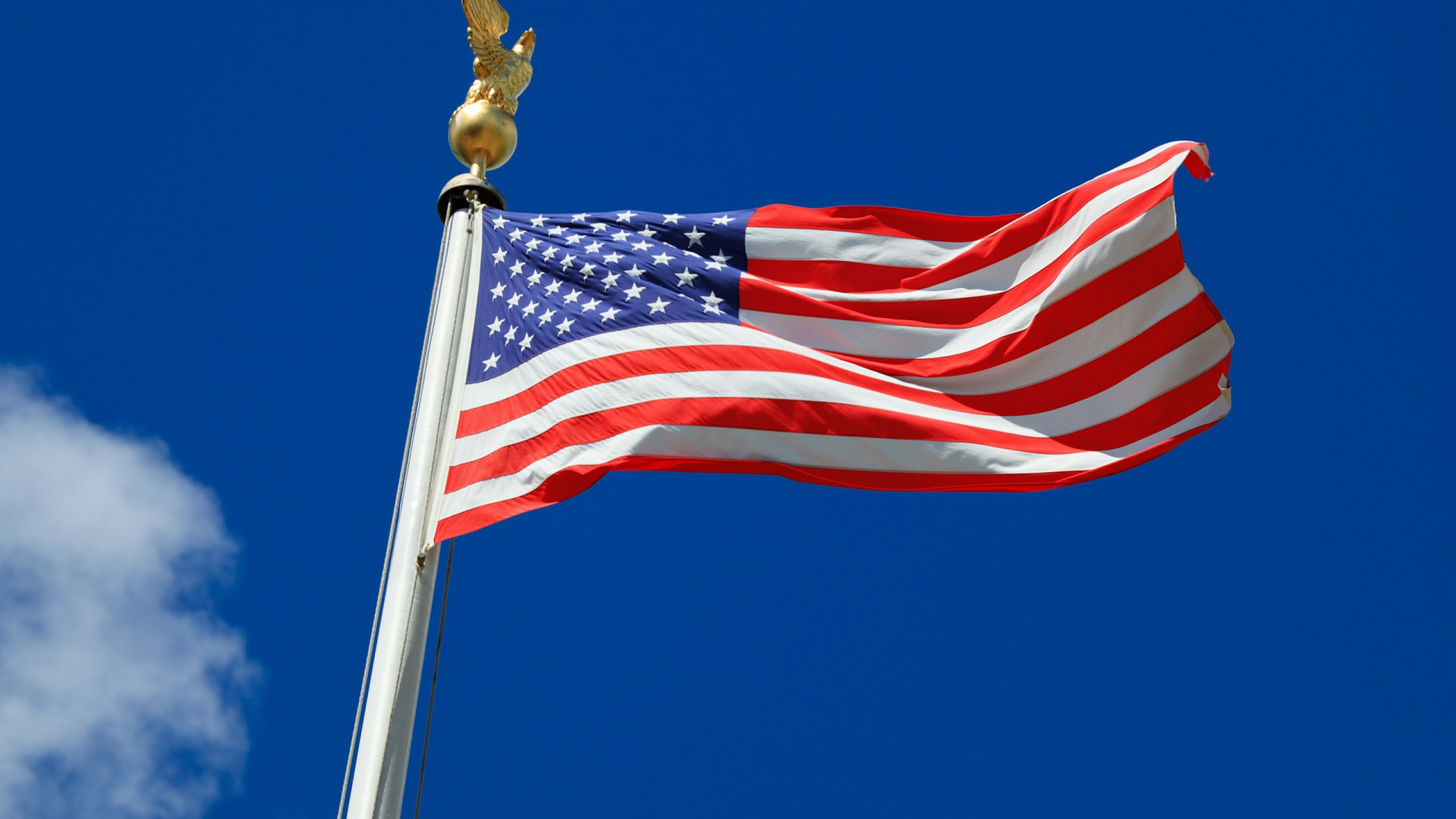 Desktop Pictures Of American Flag With Eagle Wallpaper