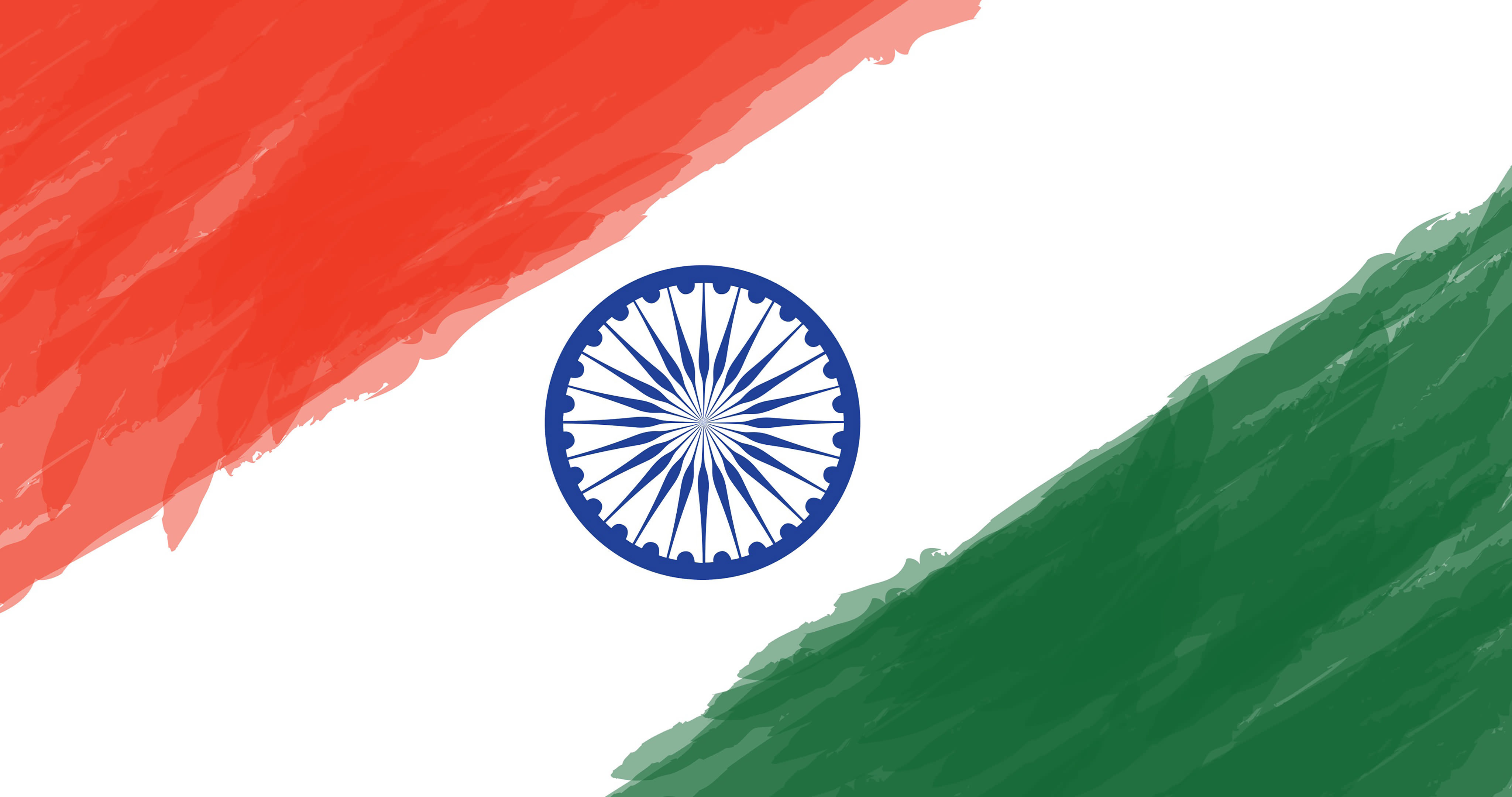 indian flag indian map awasome water painting pics free download
