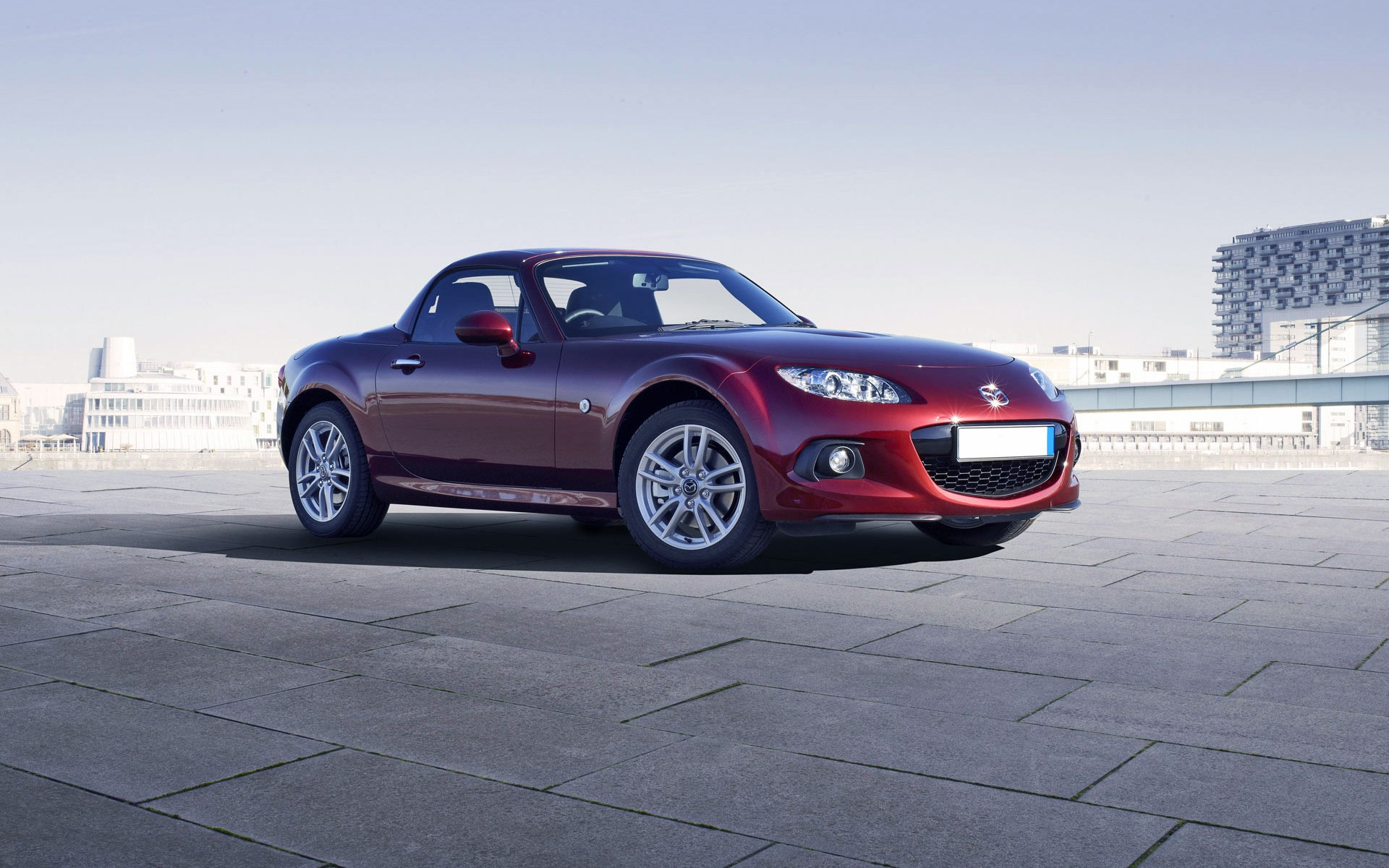 style and romantic mazda mx 5 coupe car hd wallpaper images download