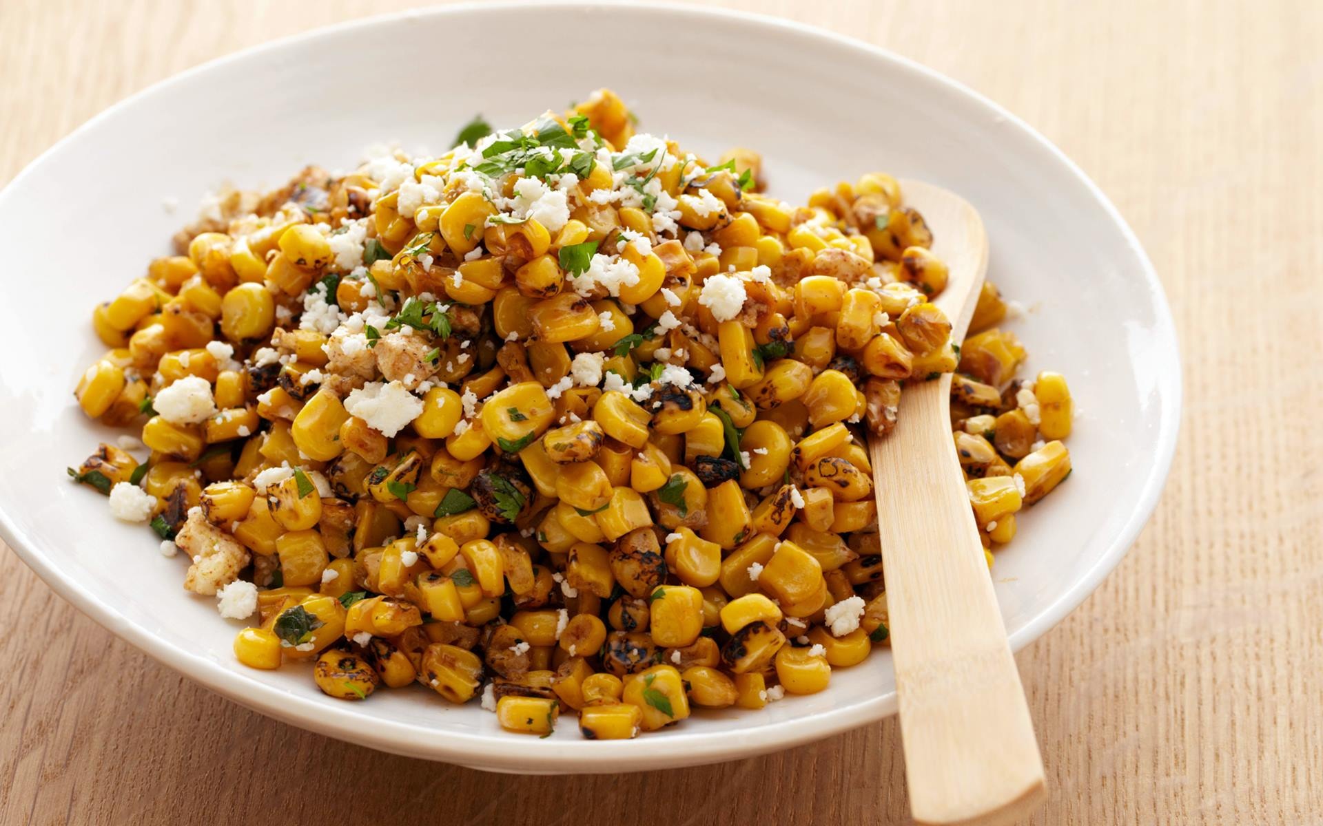 Sweet And Hot Corn Salad Hd Wallpaper Images Photos Download