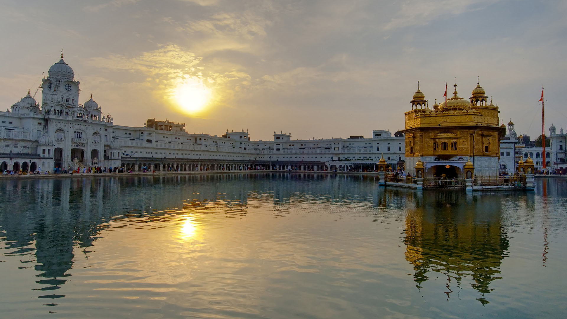 golden temple wallpaper hd