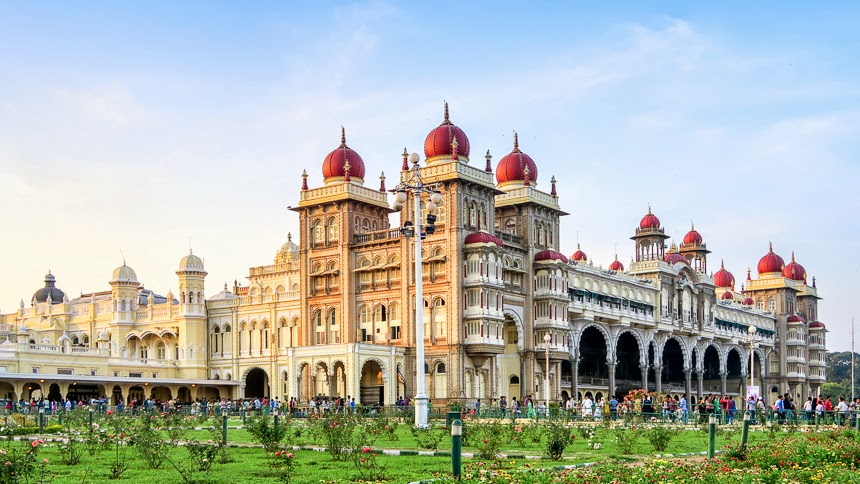 mysore palace india free high definition pictures download