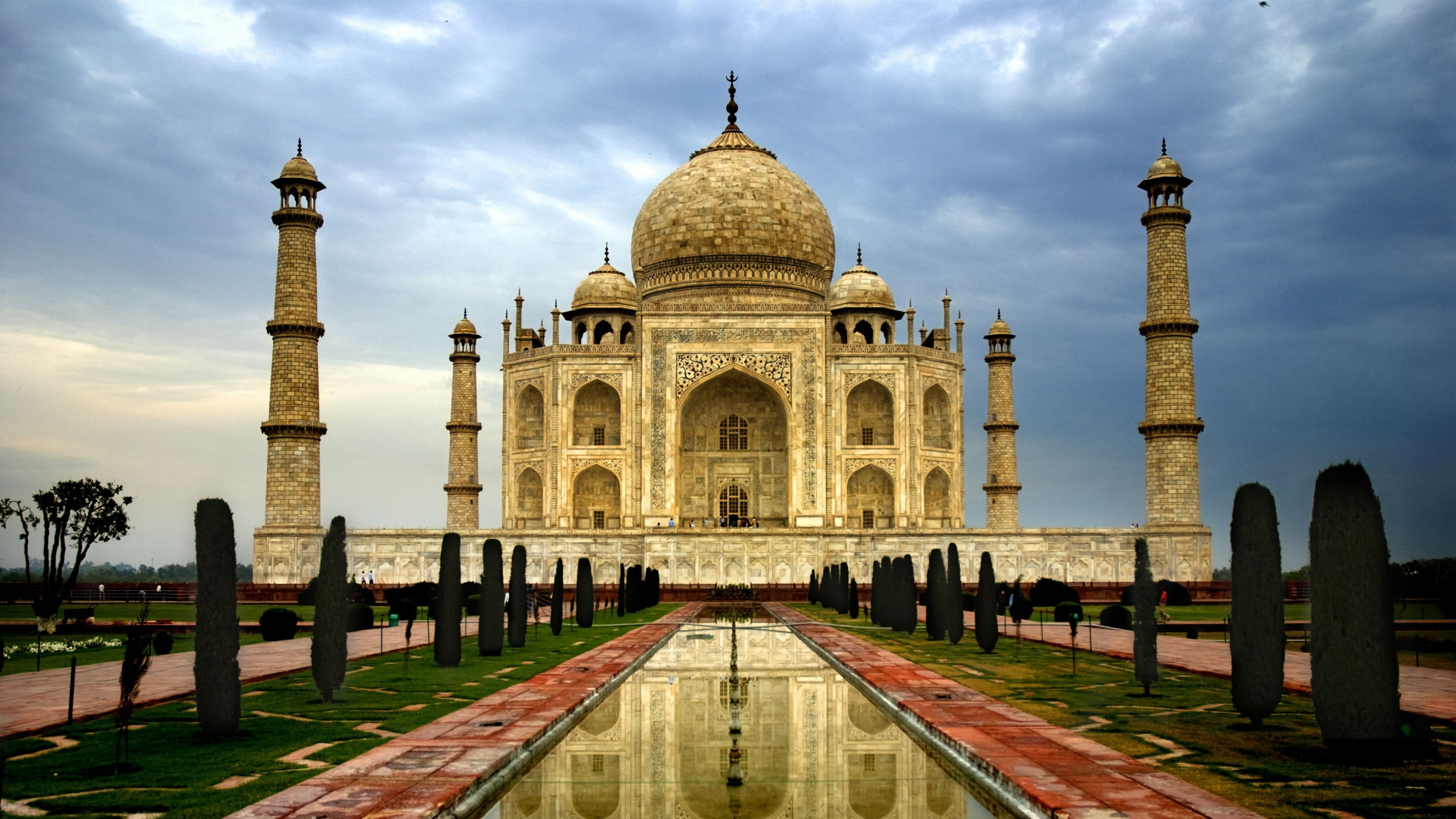 wonders of the world taj mahal wallpaper