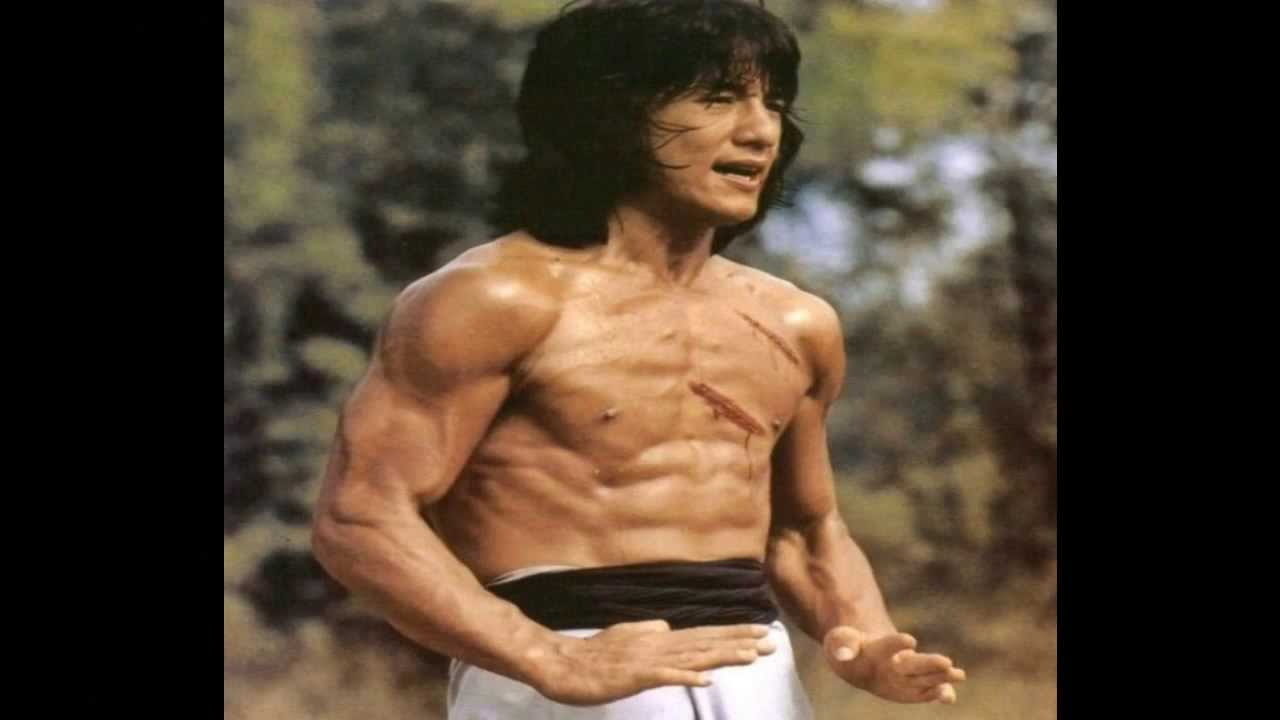 cute jackie chan six pack mobile hd desktop images