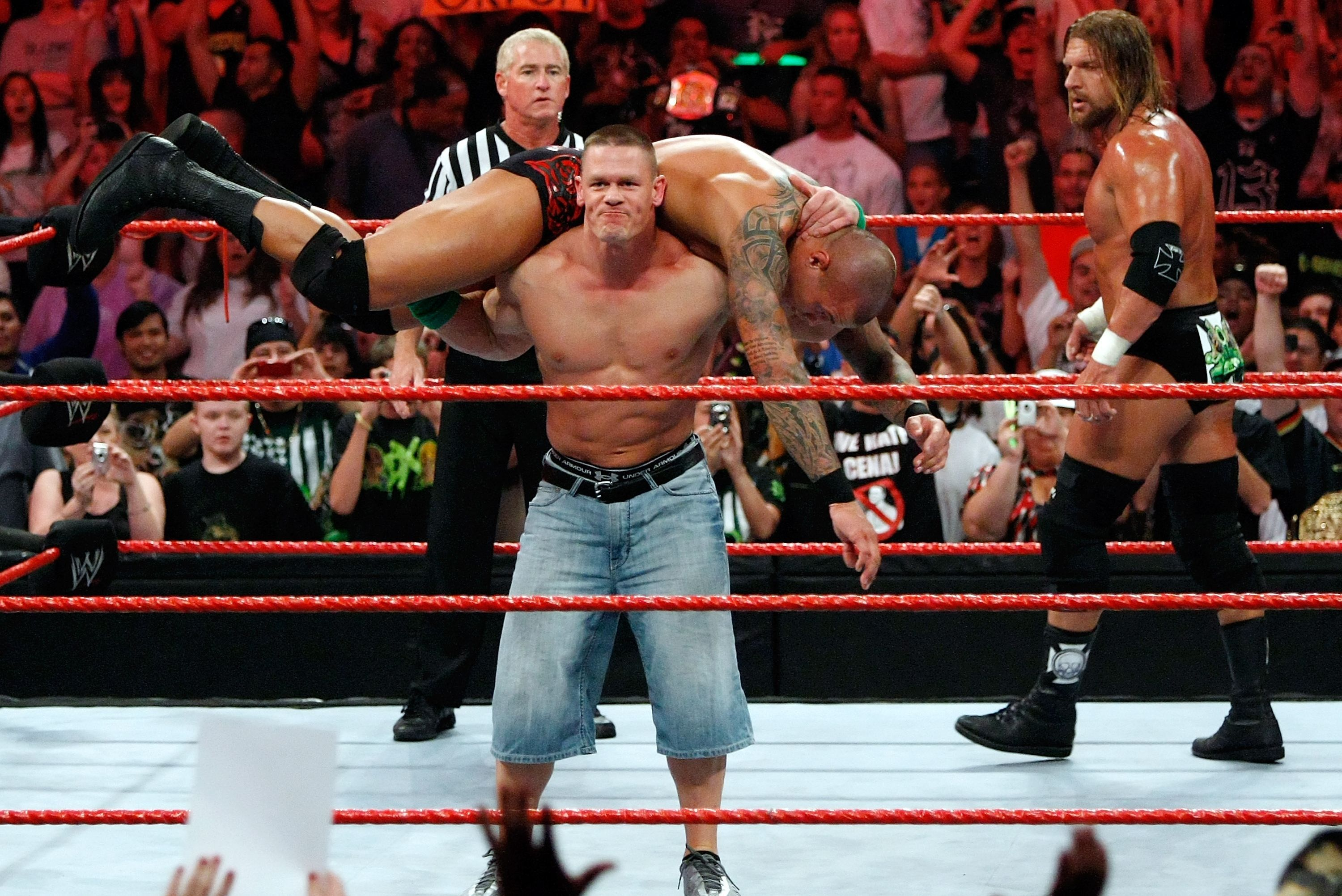 amazing john cena fight mobile hd free desktop background wallpaper