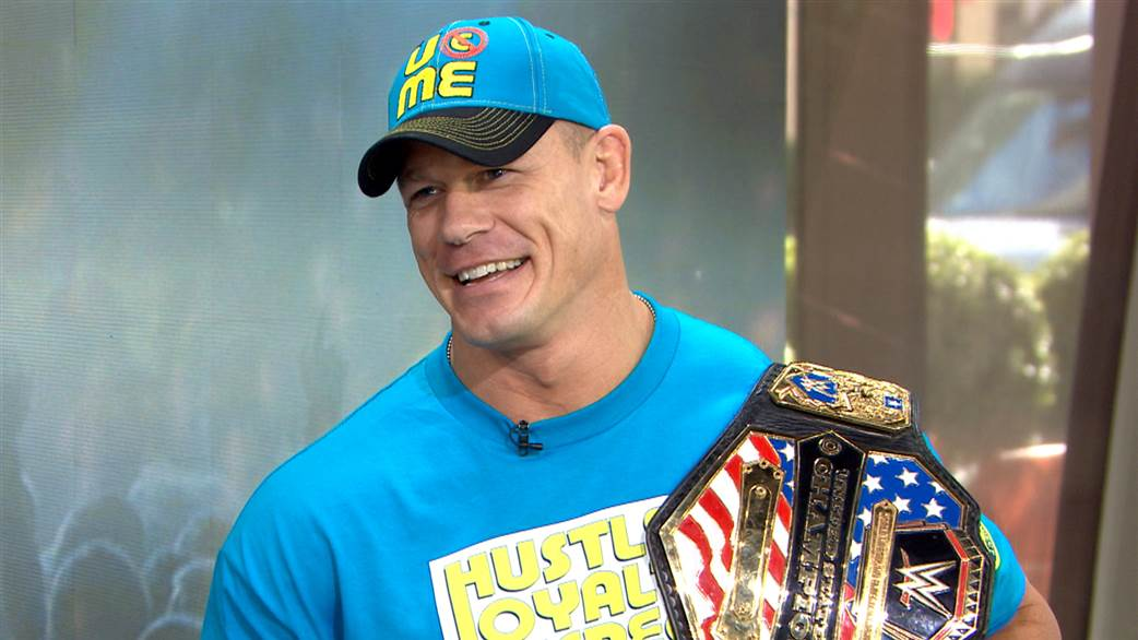 lovely john cena wwe with belt hd mobile desktop background free pictures