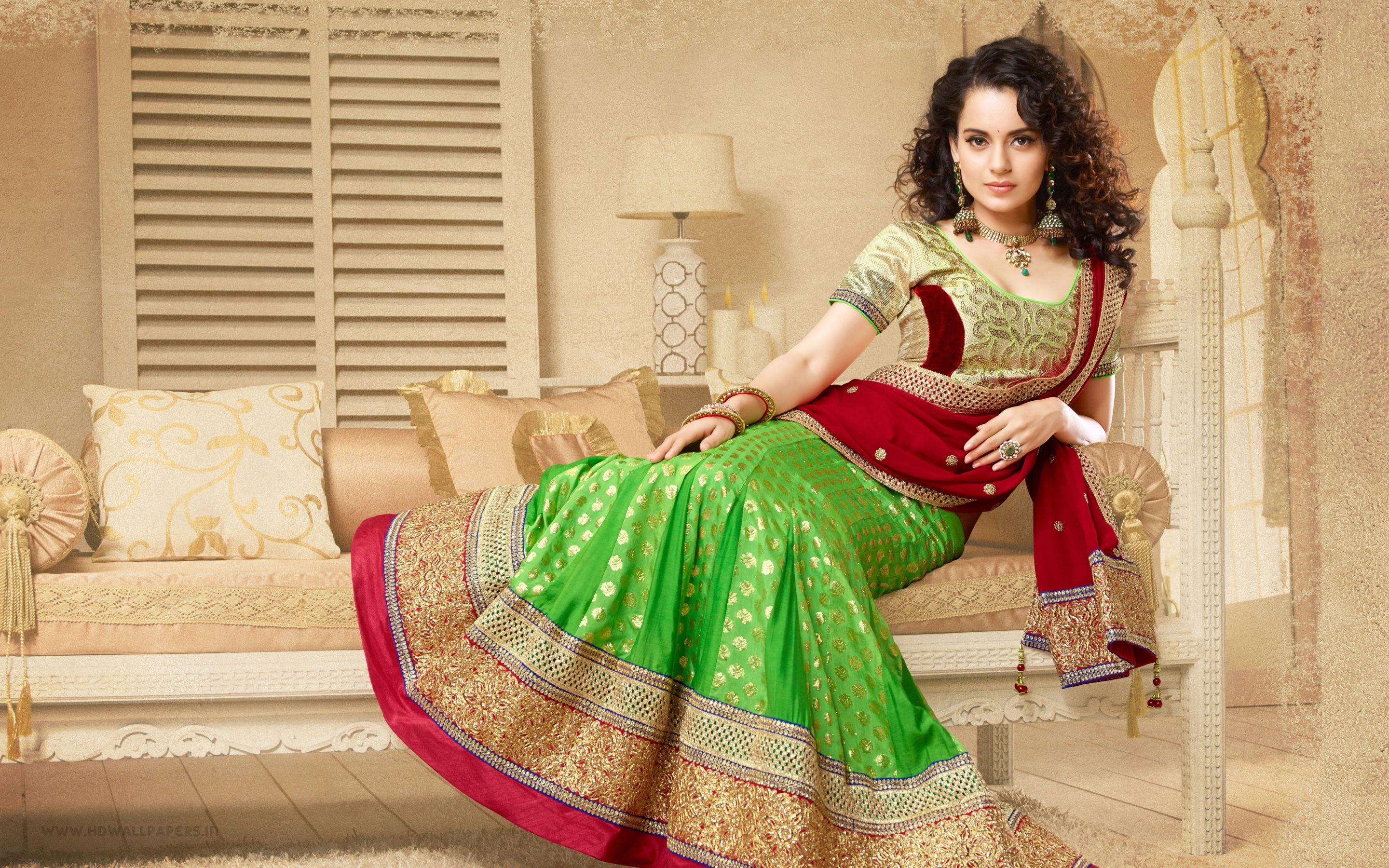 desktop kangana ranaut beautiful traditional look background mobile free hd wallpaper