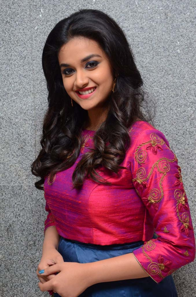 Beautiful Keerthi Suresh Smile Pictures