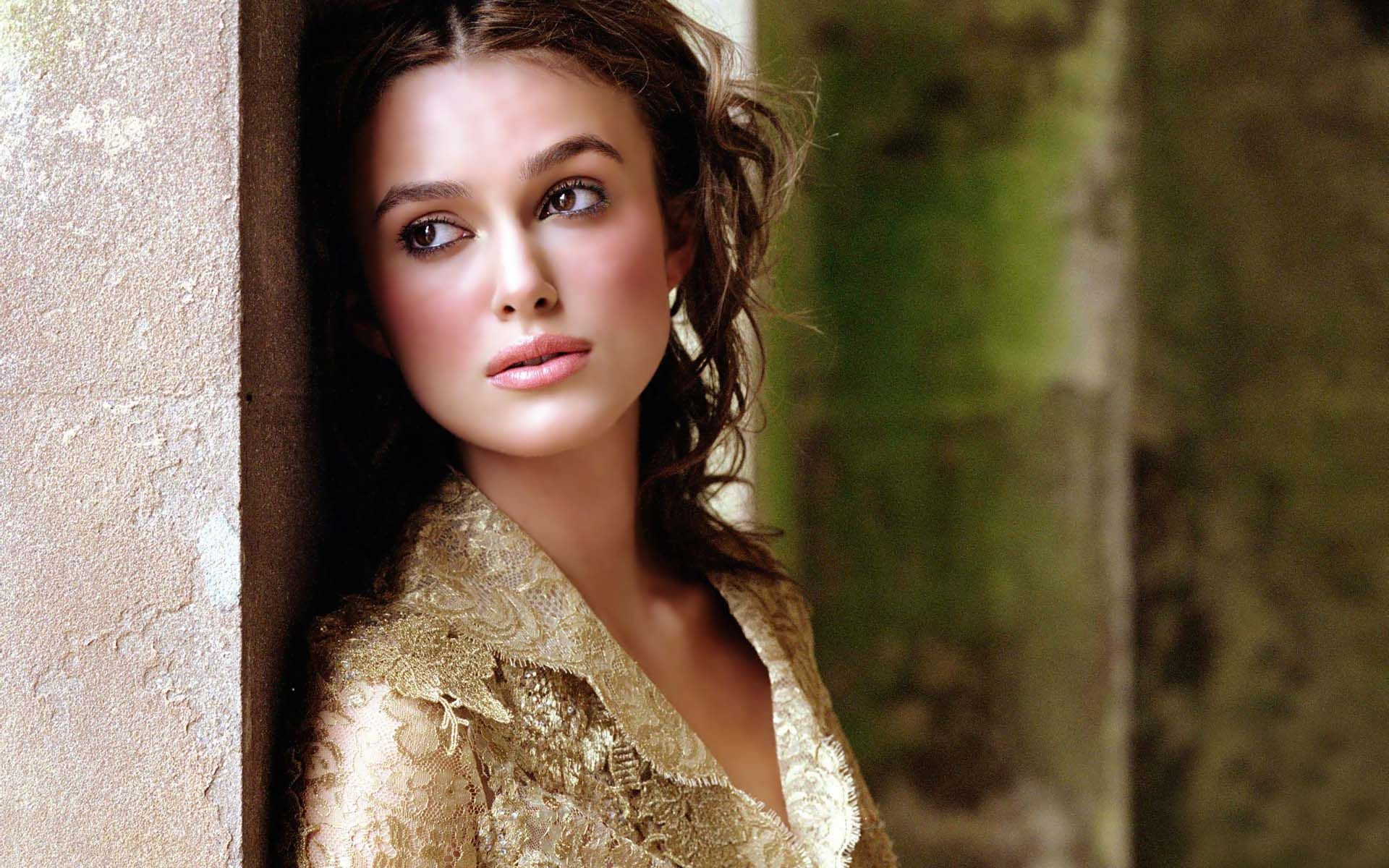 Fantastic Keira Knightley Beauty Look Hd Desktop Background Mobile Free Wallpaper