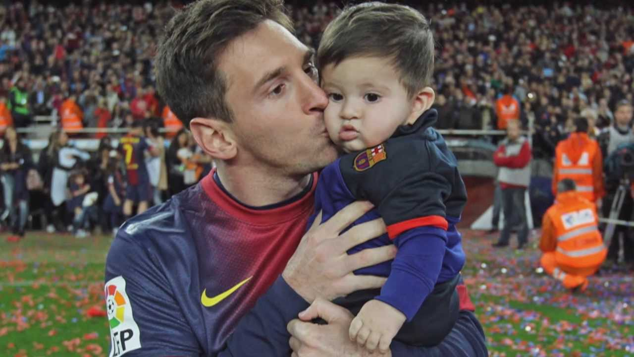 lionel messi family photos with son hd download images