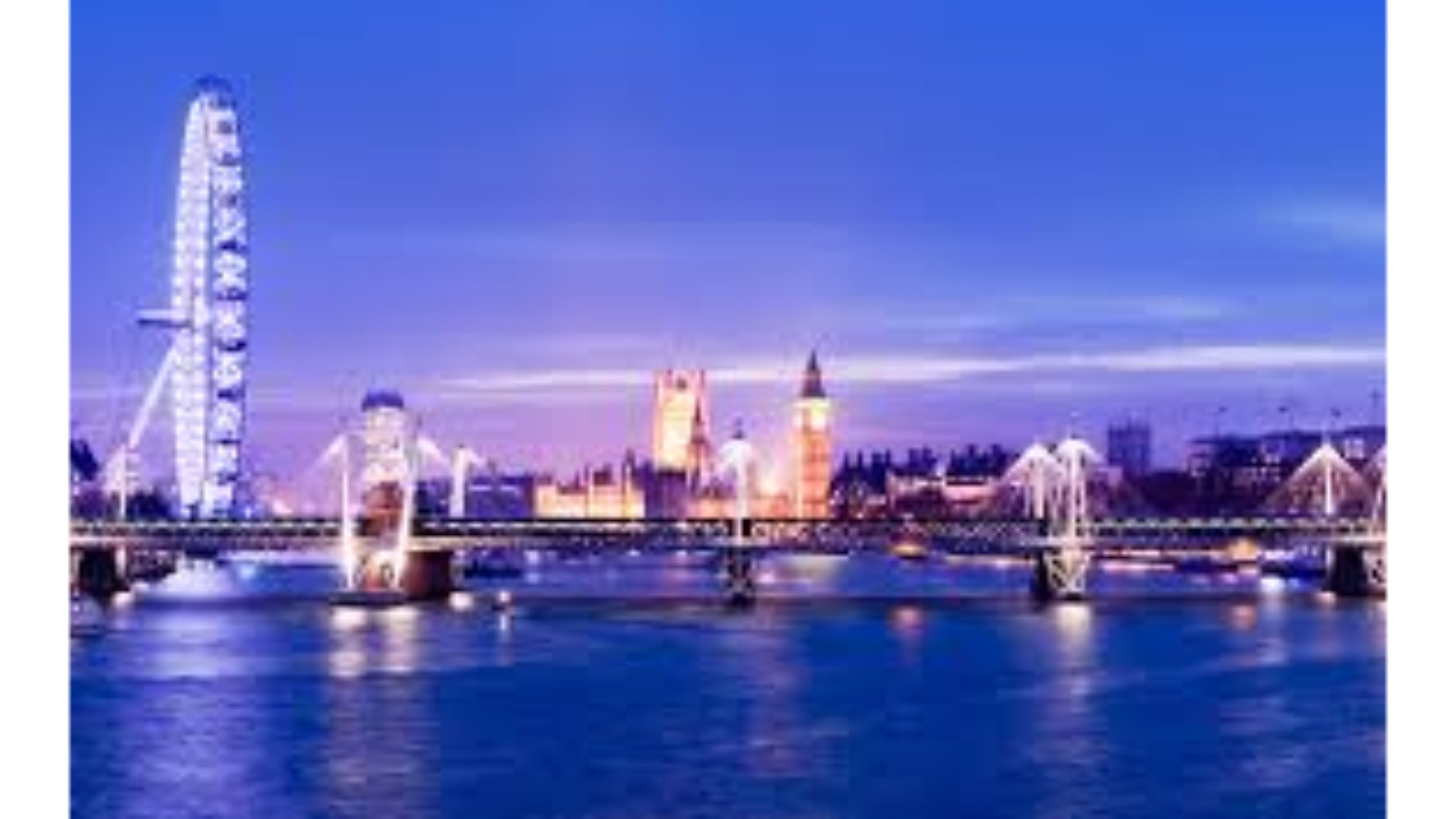 attractive blue thames river latest hd pictures