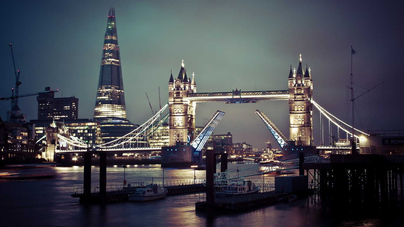 night view london city beautiful pictures download