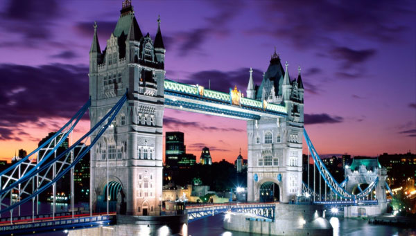 thames river nice tower bridge london waalpaper