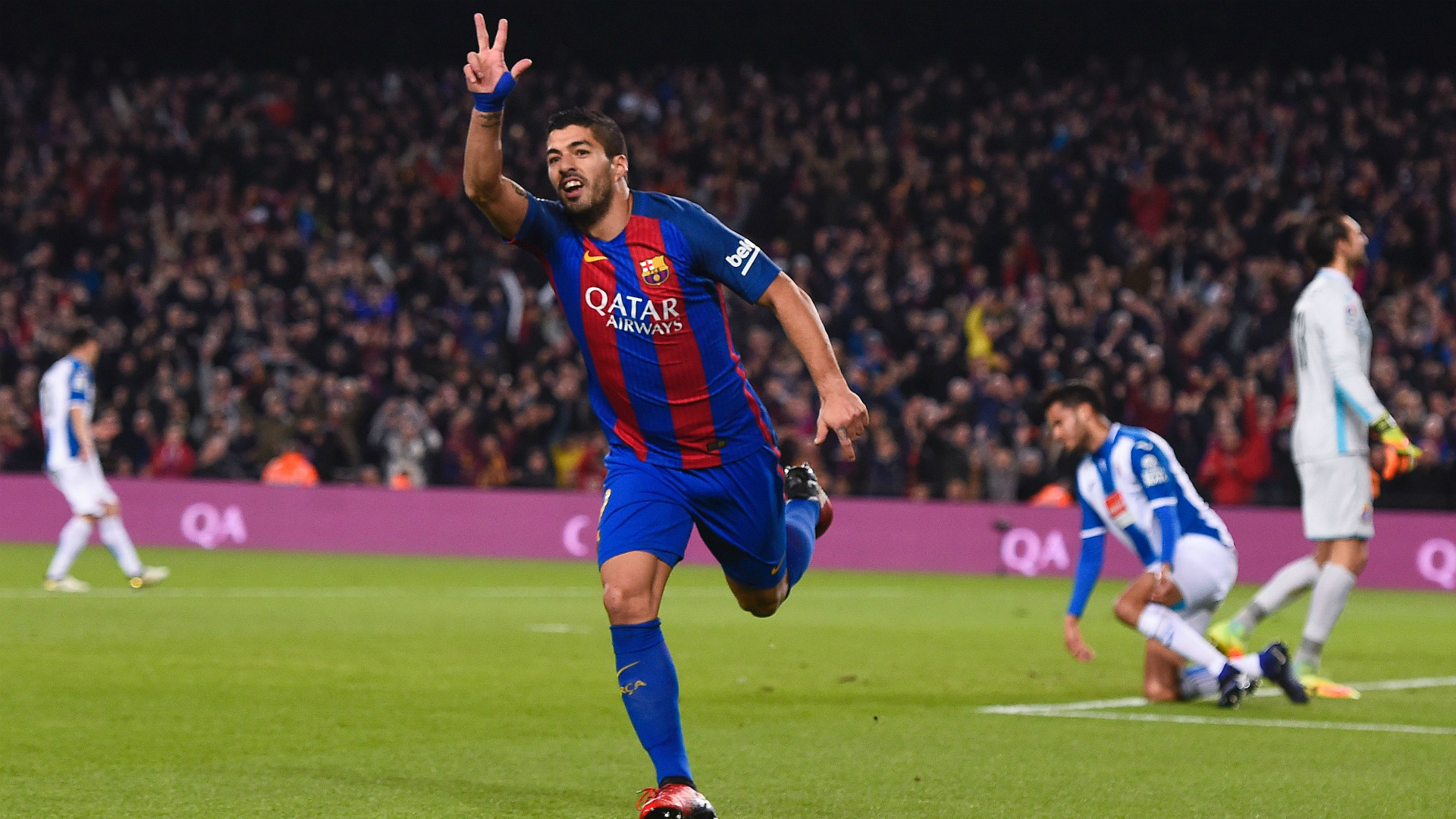 Barcelona Luis Suarez Football Soccer Player Hd Free Goal Enjoying Background Mobile Download Desktop Photos
