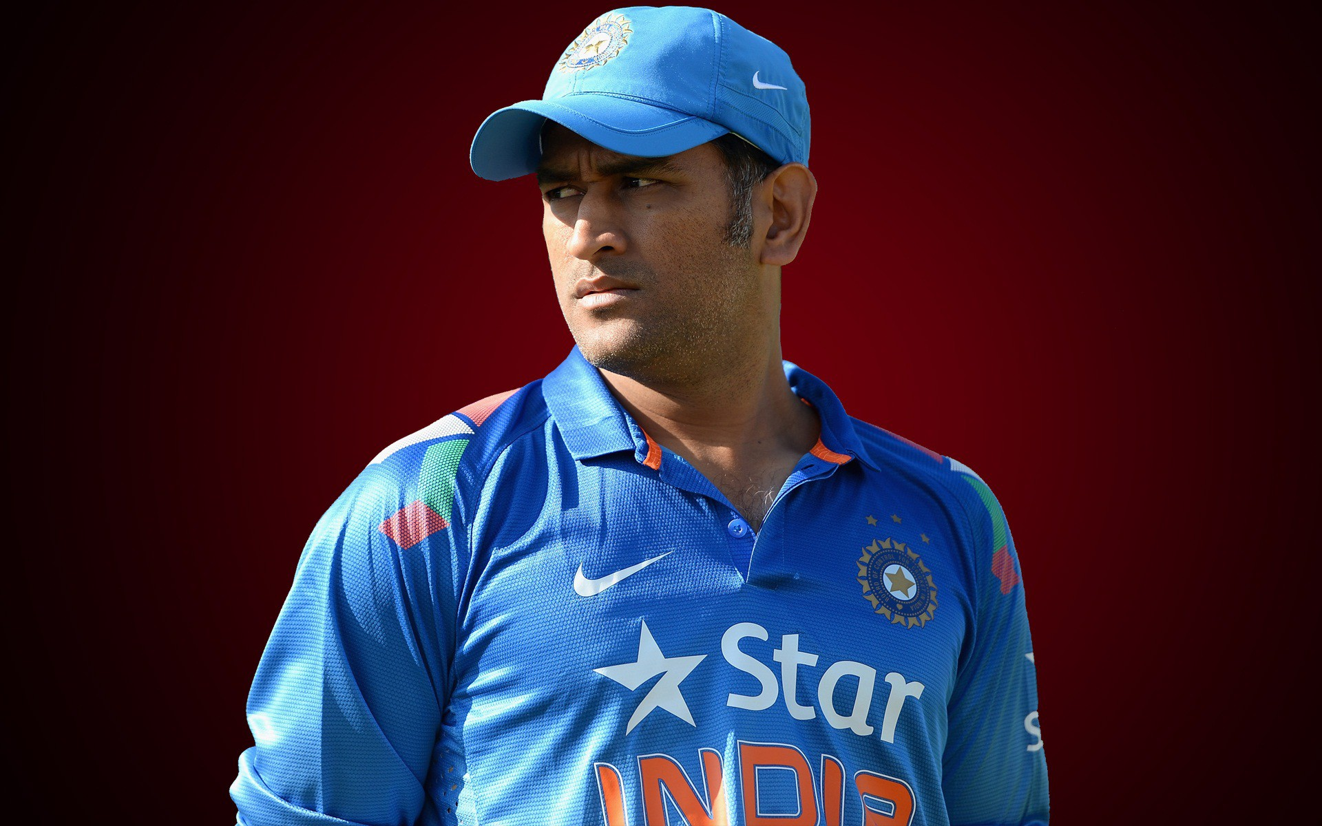Desktop Mahender Singh Dhoni Beautiful Stylish Look Background Free Laptop Pictures Hd