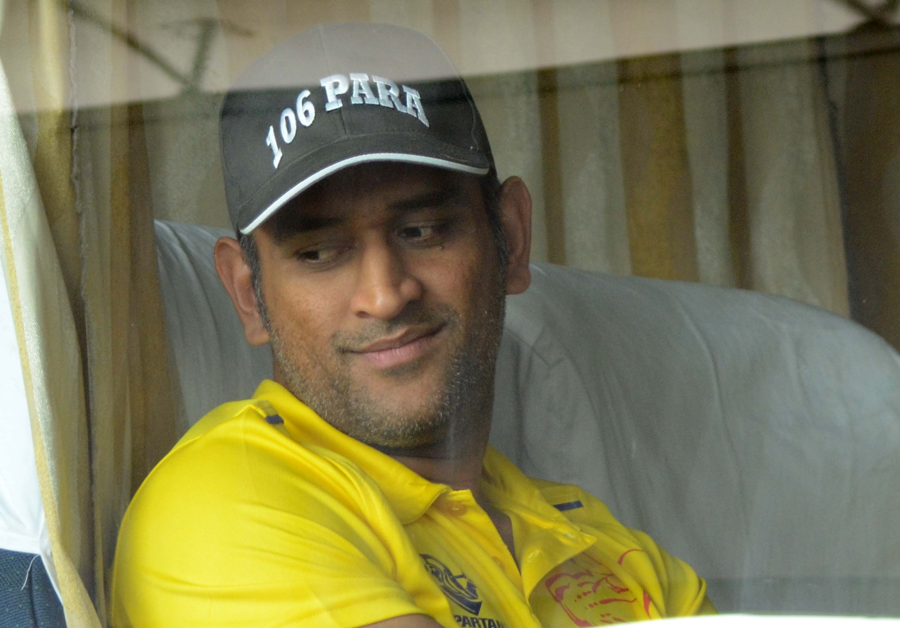 fantastic dhoni cute window side look pose free desktop background mobile pictures