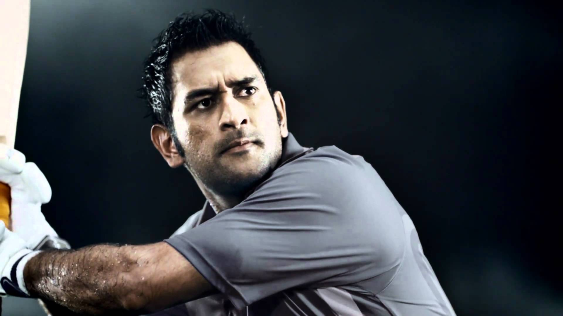 Thala Dhoni Batting Style Still Mobile Desktop Hd Background Free Pictures