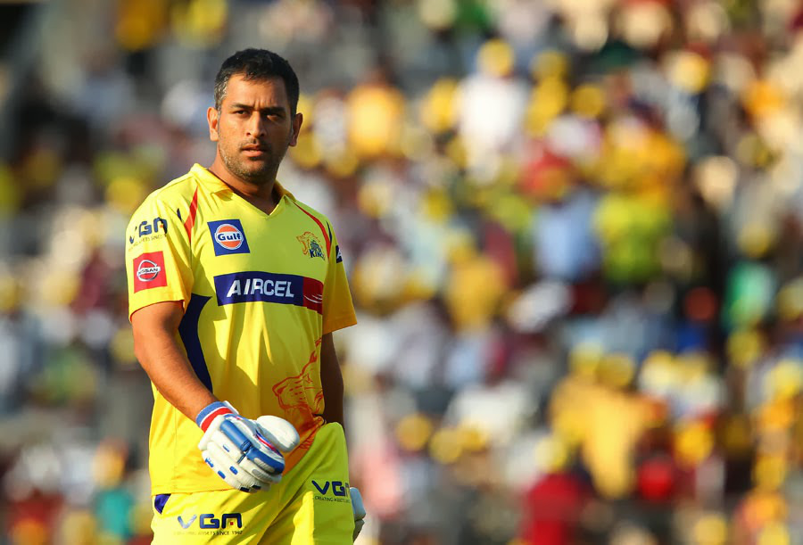 Thala Dhoni Chennai Super Kings Beauty Look Still Mobile Desktop Hd Background Wallpaper Free