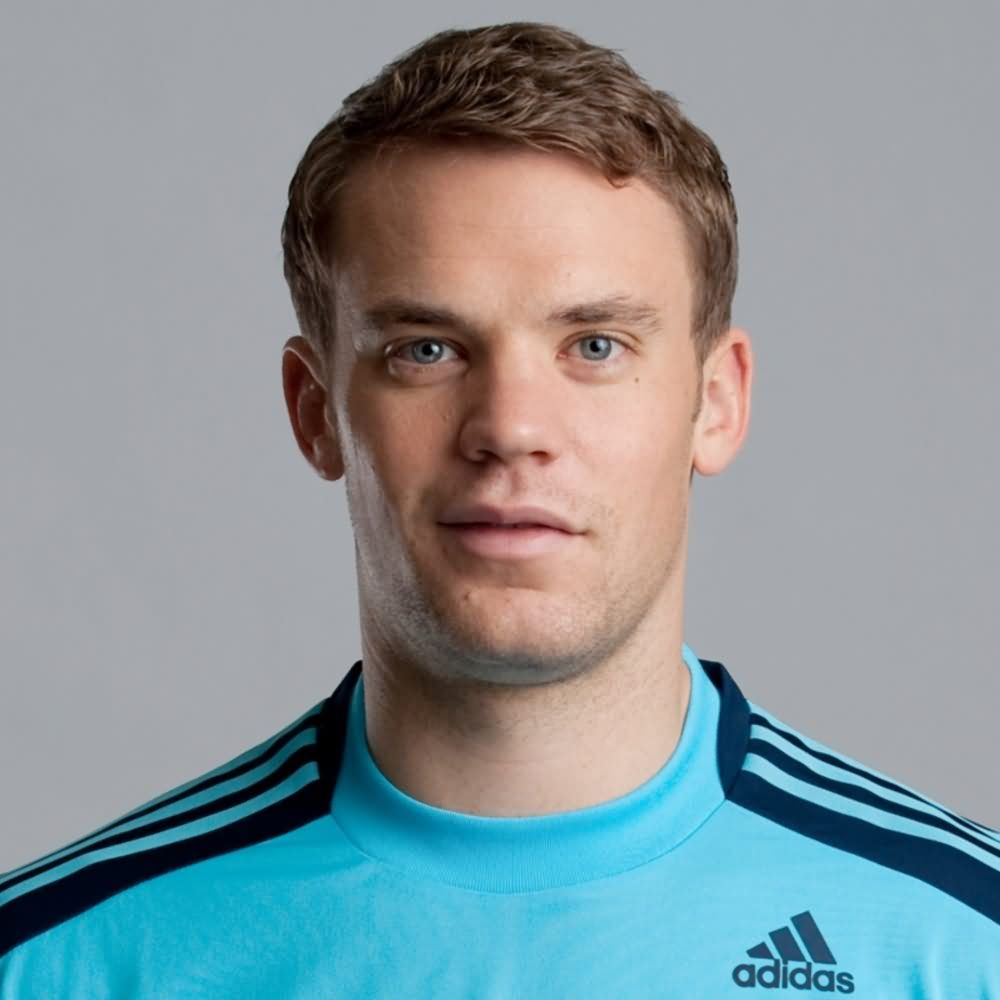 Stylish Look Football Player Manuel Neuer Desktop Images Hd