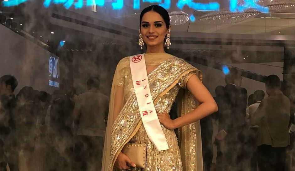 Rampwalk Manushi Chhillar Beautiful Images