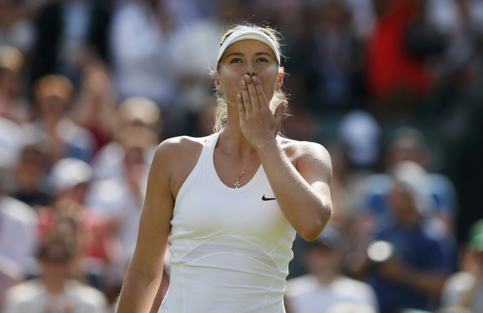 maria sharapova great happiness wallpaper