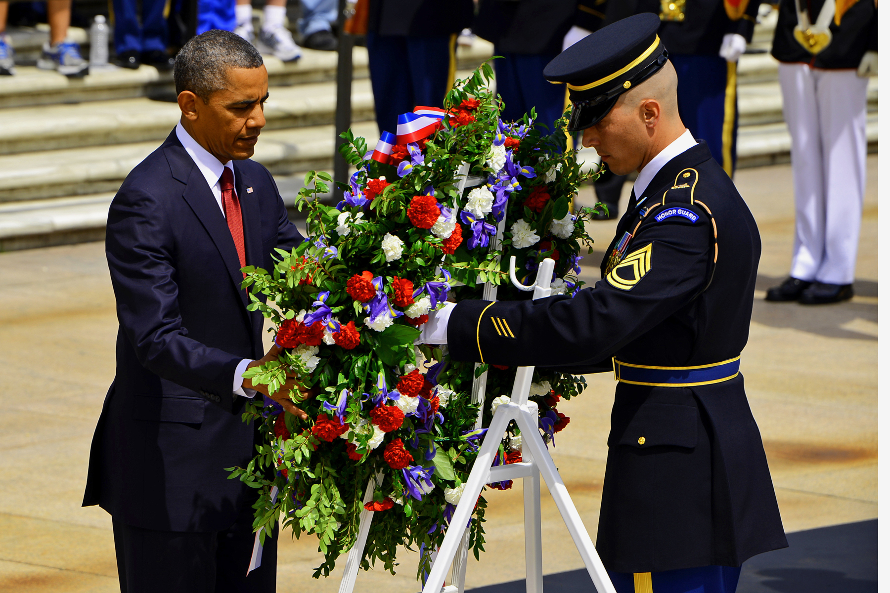 obama inagurated memorial day army march wallpaper
