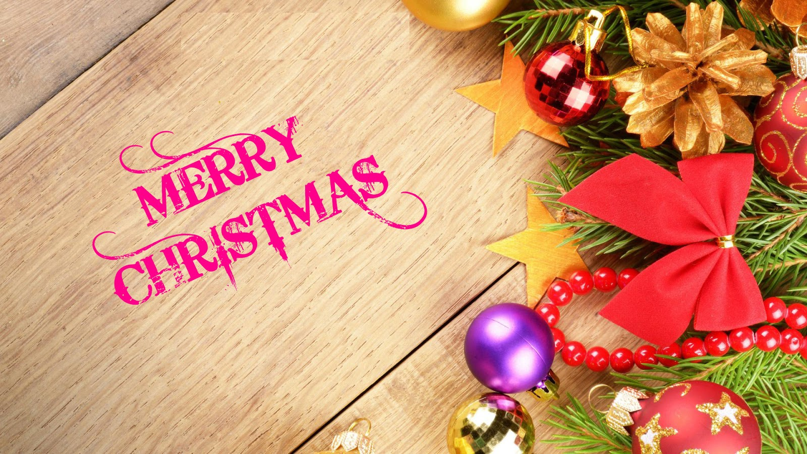 Free Wallpapers Merry Christmas Greetings