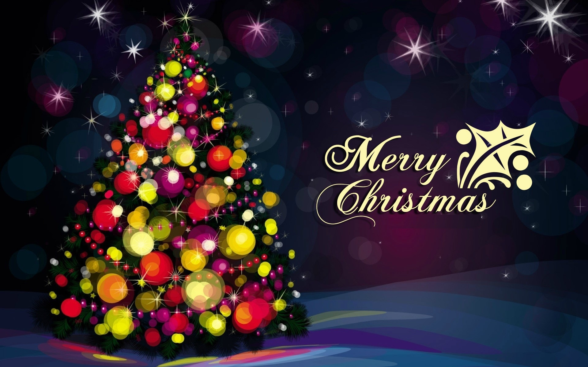 hd merrry christmas tree photos download