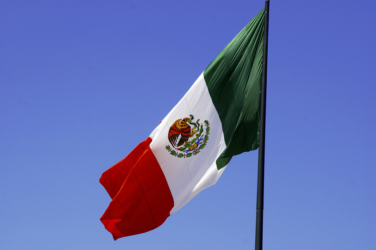 amazing view mexican flag hoisting images download