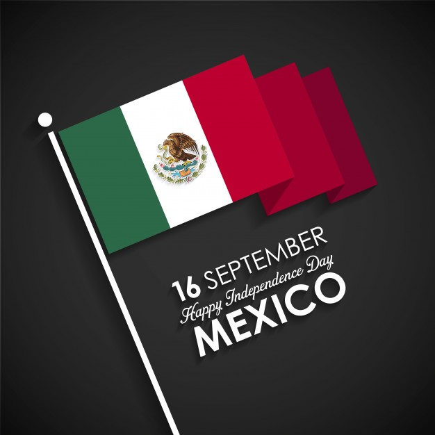 mexican independence day waving national flag pics download