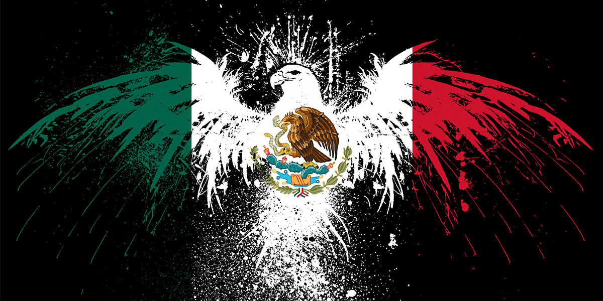 mexico flag eagle hd wallpapers free download