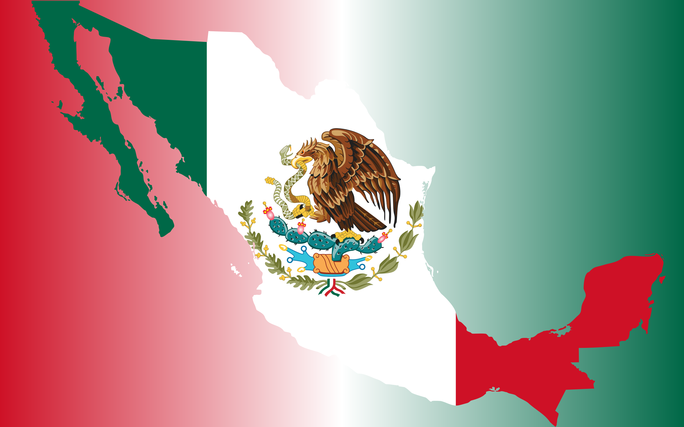 mexico flag symbol eagle wallpaper for mobile download